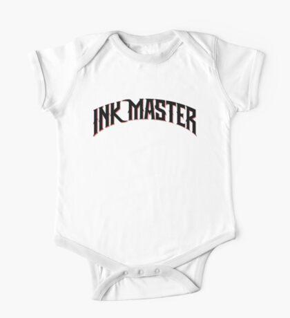 Ink Master logo - black- Spike - tv show - tattoo One Piece - Short Sleeve