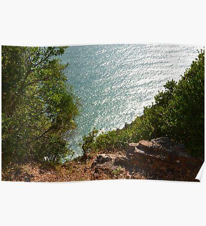 Ligurian sea Poster
