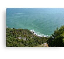 Ligurian sea #2 Canvas Print