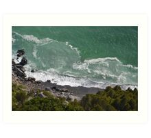 Ligurian sea #3 Art Print
