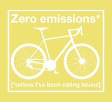 Zero Emissions - white Kids Clothes