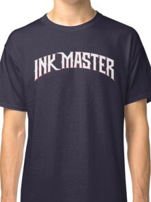 Ink Master logo - white- Spike - tv show - tattoo Classic T-Shirt