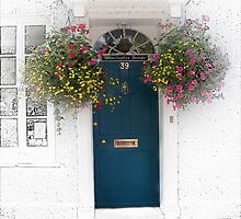 A Colourful Doorway by hootonles