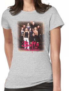 Horror Movie  Buffy Womens Fitted T-Shirt