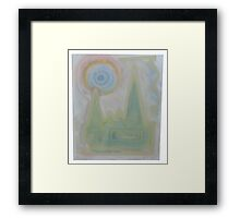 Untitled Man Made (failed landscape) 2014 Framed Print