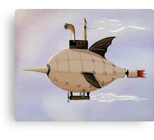 Zeppelin Marlin im Himmel Canvas Print