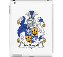 McDougall Coat of Arms / McDougall Family Crest iPad Case/Skin
