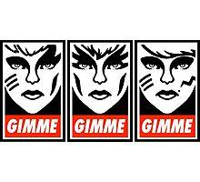 Gimme Misfits Photographic Print