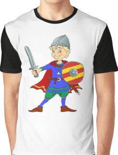 Let's Get Medieval - Viking Around Graphic T-Shirt