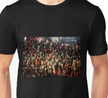 ABSTRACT ARMY OF DARKNESS Unisex T-Shirt