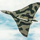 Vulcan Flypast With Bomb Bay open by SWEEPER