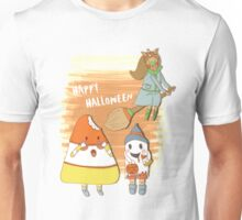 Happy Halloween, Candycorn Unisex T-Shirt