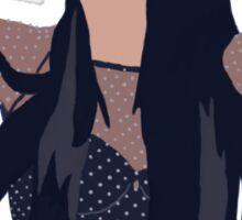 Minimalistic Selena Drawing Sticker