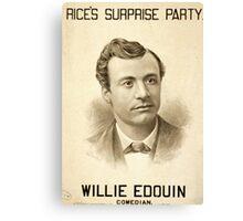 Rices Surprise Party - Metropolitan Litho - 1879 Canvas Print
