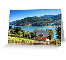 Summer on the lake Greeting Card