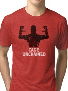 Cage Unchained Tri-blend T-Shirt