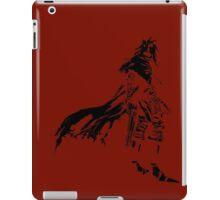 Vincent Valentine Minimalist Red iPad Case/Skin