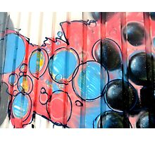 Graffiti design 002 - by Ana Canas Photographic Print