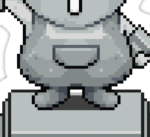 King Pokey Statue - Mother 3 Sticker
