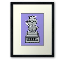 King Pokey Statue - Mother 3 Framed Print