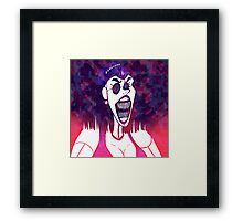 Angry Mom Mode: Activated Framed Print