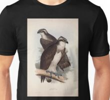 John Gould The Birds of Europe 1837 V1 V5 012 Osprey Unisex T-Shirt