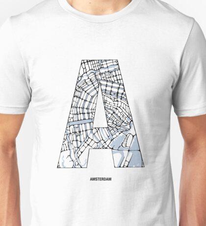 MAPHABET A: Amsterdam Unisex T-Shirt