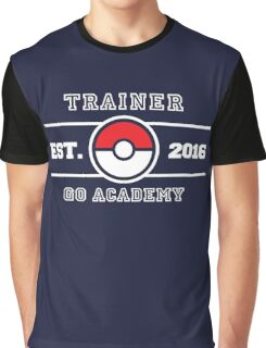 Trainer Go Academy Graphic T-Shirt