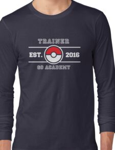 Trainer Go Academy Long Sleeve T-Shirt