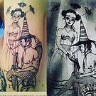 Trick o' Treat Illustration and tattoo  by John Dicandia ( JinnDoW )