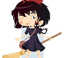 Kiki's Delivery Service by graphic-araknee