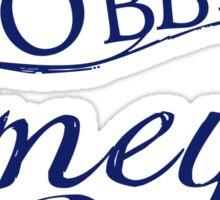 Wibbly Wobbly Timey Wimey Sticker
