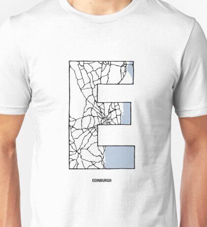 MAPHABET E: Edinburgh Unisex T-Shirt