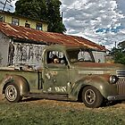 1946 Chevrolet Pickup Truck ' A Survivor' by DaveKoontz