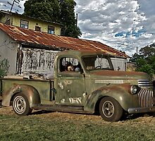 1946 Chevrolet Pickup Truck ' A Survivor' by DaveKoontz