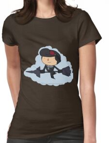 Brawlhalla - Sky Captain Scarlet (black) Womens Fitted T-Shirt