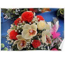 bouquet of roses Poster