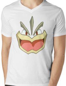 Machamp Shirt Mens V-Neck T-Shirt