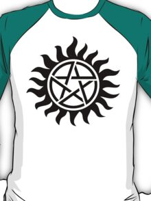 Supernatural Tattoo (black) T-Shirt