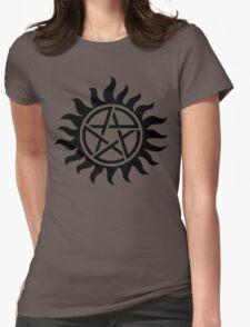 Supernatural Tattoo (black) Womens Fitted T-Shirt