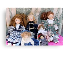 old dolls Canvas Print
