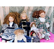 old dolls Photographic Print