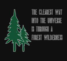 Through a Forest Wilderness One Piece - Short Sleeve