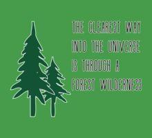 Through a Forest Wilderness Baby Tee