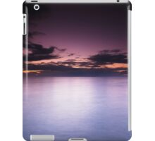 Lake Huron beautiful dramatic twilight scenery art photo print iPad Case/Skin