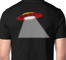 UFO, Roswell, 1950s, Aliens, The Drake equation, SETI, Alien, search for extraterrestrial life, Contact, Is there anyone there? Unisex T-Shirt