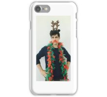 Matthew Daddario Christmas 2015 iPhone Case/Skin