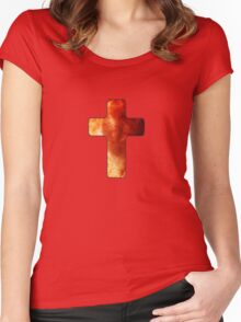 Cross Women's Fitted Scoop T-Shirt