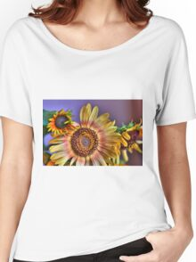 """Sunflowers""  Women's Relaxed Fit T-Shirt"
