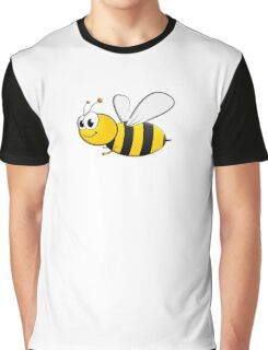 Cartoon, BEE, Bumble, Flying, Insects, Kids, Honey,  Graphic T-Shirt